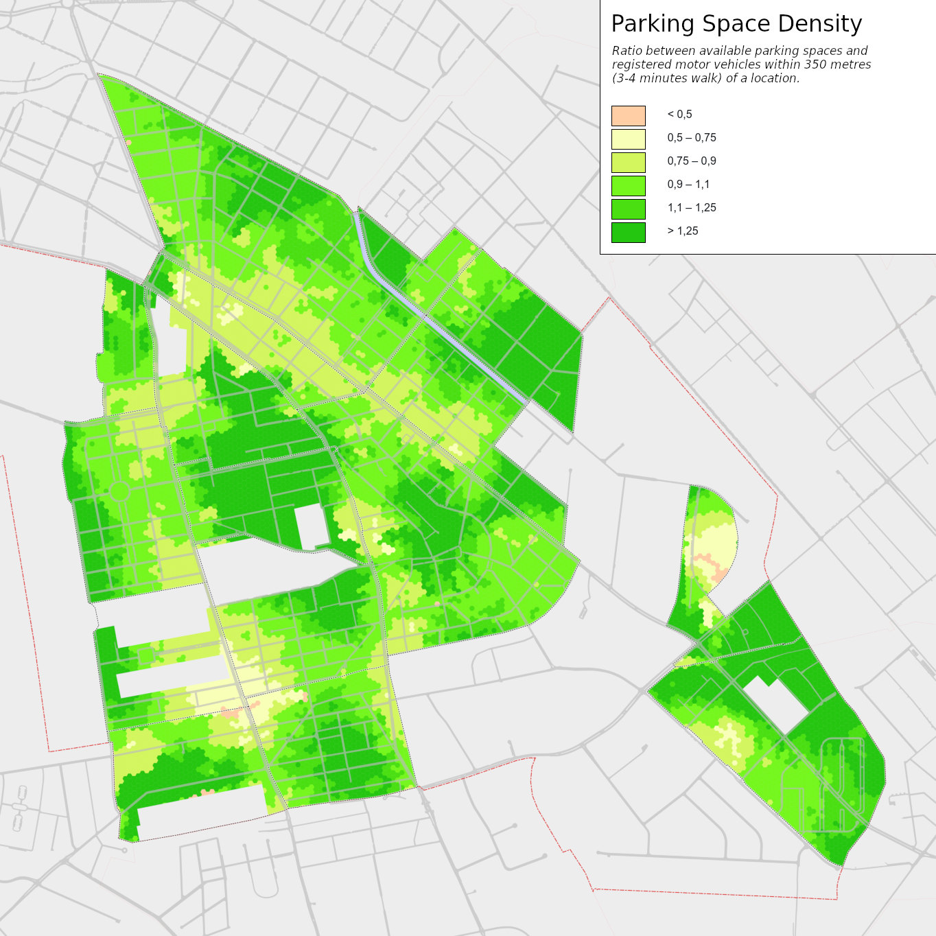 Parking Space Density